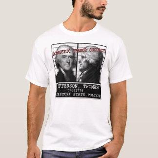 Camiseta Suspeito de terror doméstico de Thomas Jefferson