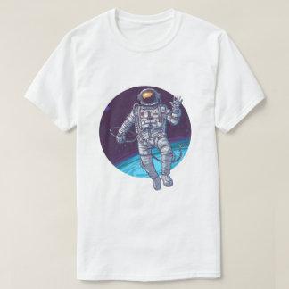 Camiseta Suspensão para fora no espaço