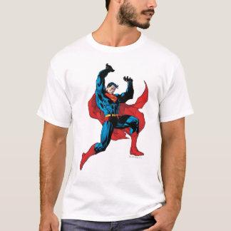 Camiseta Sustentando um objeto pesado