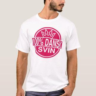 Camiseta svin 100% do dansk