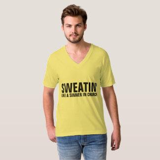 Camiseta SWEATIN GOSTAM DE UM PECADOR em t-shirt do
