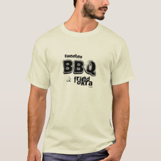 Camiseta sweetea, CHURRASCO & quiabo fritado
