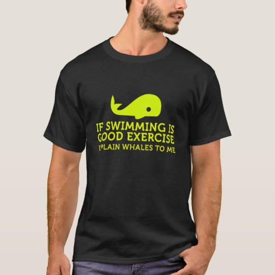Camiseta Swimming and Whales