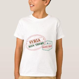 Camiseta Syria feito lá isso