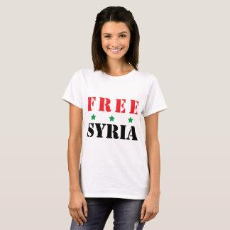 CAMISETA SYRIA LIVRE