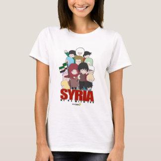Camiseta SYRIA - nós somos com você