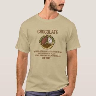 Camiseta T 001a da SALADA do CHOCOLATE (PARTE DIANTEIRA