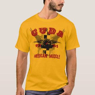 Camiseta T 1974 do gráfico de Cuda