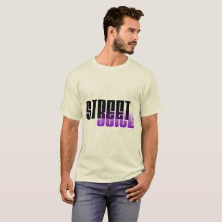 Camiseta T 1 do logotipo do suco da rua