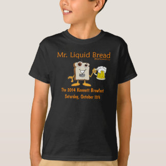 Camiseta T 2014 quadrado da juventude de Kennett Beerfest