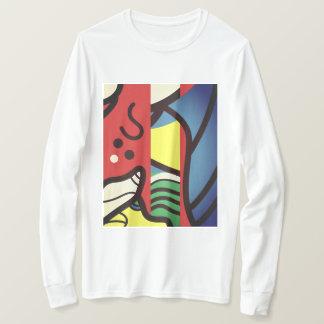 Camiseta T abstrato