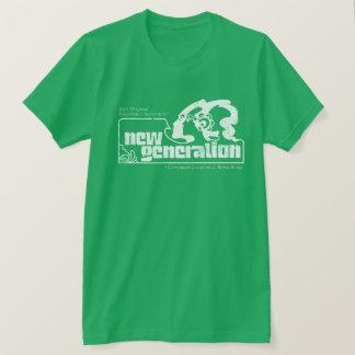 """Camiseta T afligido da """"nova geração"""""""