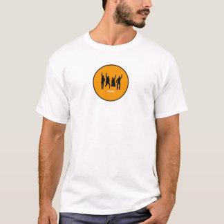 Camiseta T alaranjado da bola de Joppa