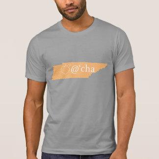 "Camiseta T ""alaranjado"" de Tennessee do Appalachia dos"