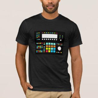 Camiseta T americano de Roubo do roupa da máquina de ritmos
