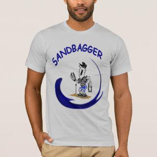 Camiseta T americano do Bagger da areia das ferraduras do