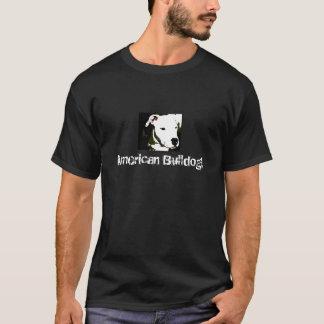 Camiseta T americano do buldogue
