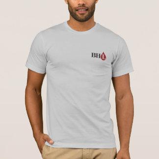 Camiseta T americano do roupa dos libertários do coração de