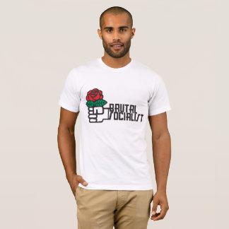 Camiseta T americano socialista brutal do roupa