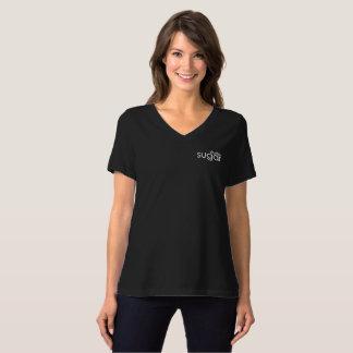 Camiseta T apto relaxado açúcar do estúdio
