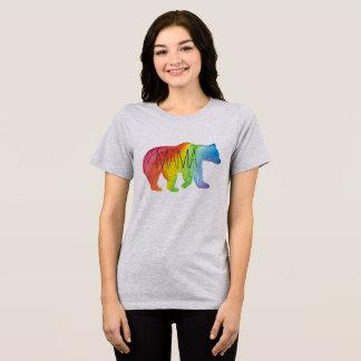 Camiseta T apto relaxado Aguarela do Mama Carregamento