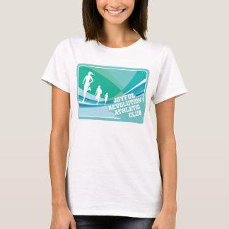 Camiseta T atlético do clube da revolução alegre das
