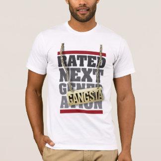 Camiseta T avaliado da próxima geração (Gagsta)