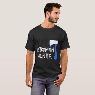 Camiseta T azul do Passover do machado do caçador de