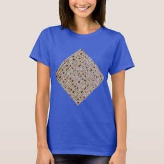 CAMISETA T AZUL DO SEDER DAS SENHORAS DO MATZO