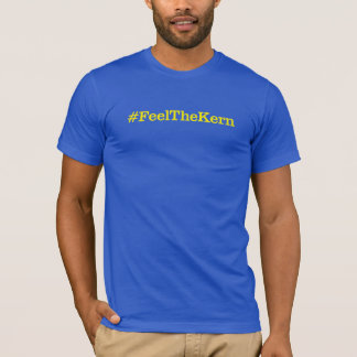 Camiseta T azul #FeelTheKern de Clarendon (unisex)
