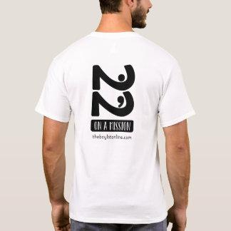 Camiseta T básico a favor da linha caridades de Boylston