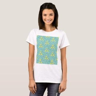 Camiseta T básico com Tessellation do elefante