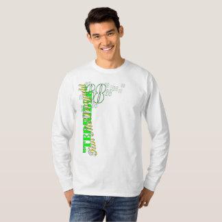 "Camiseta ""T básico da longo-luva de Tim terrível"""