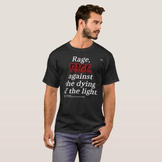 Camiseta T básico da obscuridade das citações de Dylan