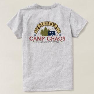 Camiseta T básico do caos 2017 do acampamento das mulheres