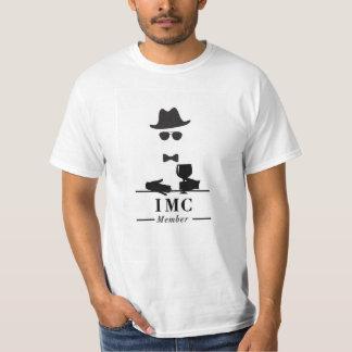Camiseta T básico do clube invisível do homem