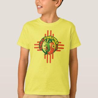 Camiseta T básico do monstro do Chile para miúdos