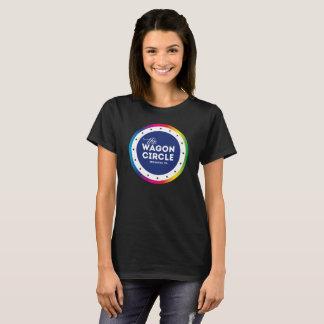 Camiseta T básico do orgulho do WC das mulheres (preto)