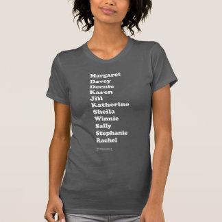 Camiseta T básico do pelotão da menina (cinzento)