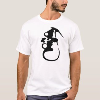 "Camiseta T básico ""Mongol"" (L)"