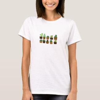 Camiseta T bonito do jardim dos cactos das mulheres