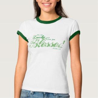 Camiseta T bonito dos Abençoar-júniors e das mulheres