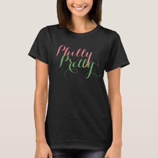 Camiseta T bonito preto de Philly