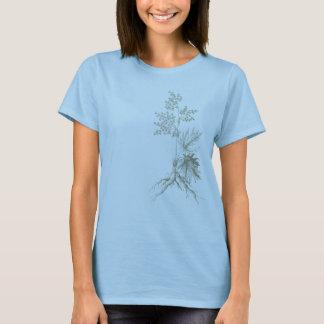 Camiseta T botânico
