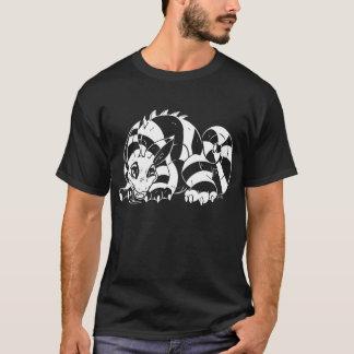 Camiseta T branco de Cheshire Leupak
