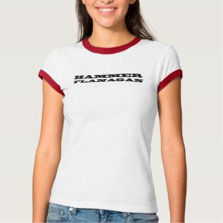 Camiseta T Brawny da campainha de Flanagan do martelo das