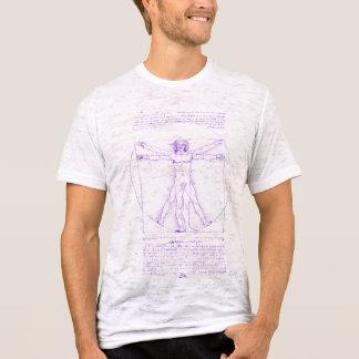 Camiseta T cabido homem da neutralização de Vitruvian