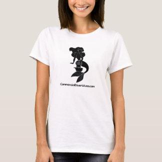 Camiseta T cabido logotipo de CDW