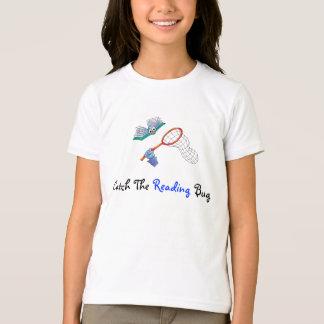 Camiseta T-Camisa-Captura o inseto da leitura
