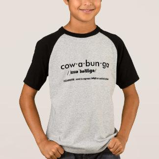 Camiseta T-camisa-design da palavra do dicionário de